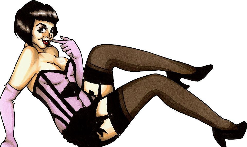 Miss Rosy Cheeks Burlesque