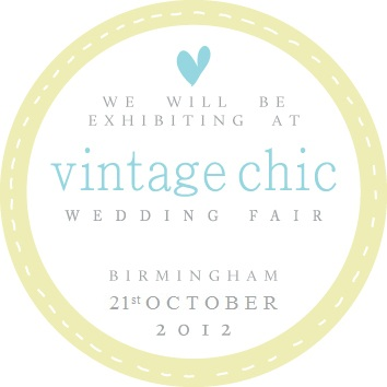 vintage chic wedding fayre
